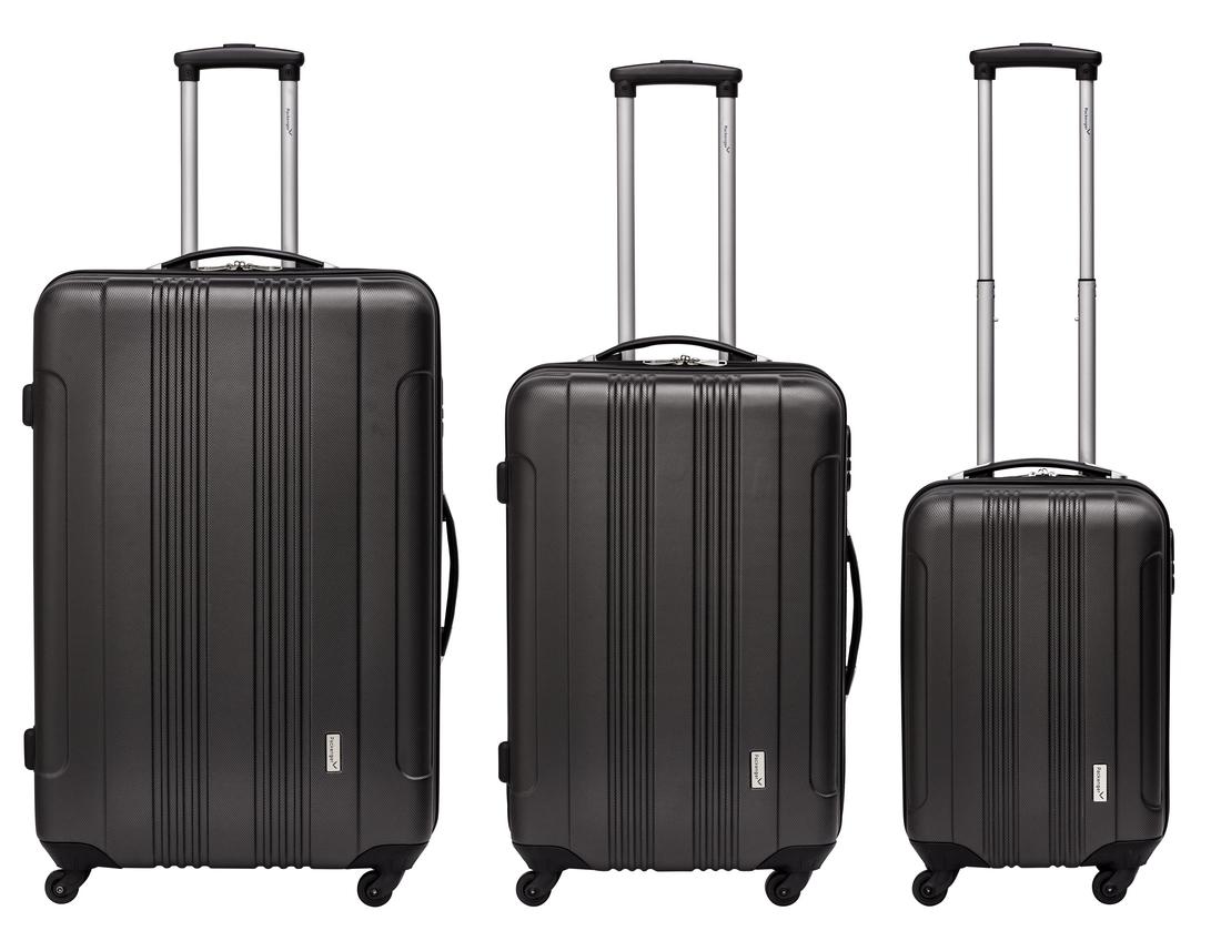 Packenger Kofferset Torreto in Anthrazit