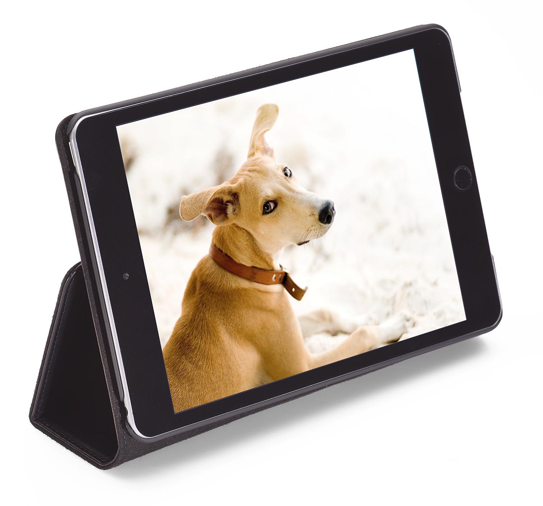iPad Air 2 und iPad Mini 4 Klapphülle aus Leder von PACKENGER
